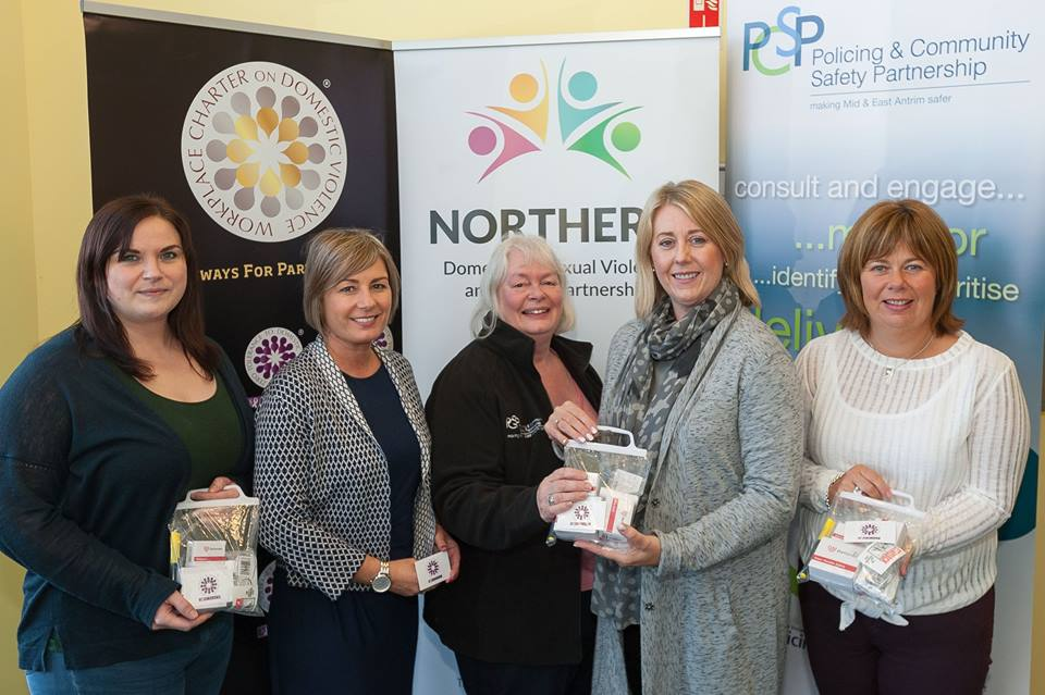 Mid & East Antrim PCSP fund crime prevention packs